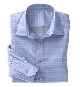 Lt Blue Check Shirt:N5-4074723
