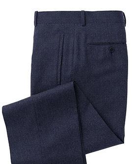 Blue Grey Solid Trouser:Z3-3962107
