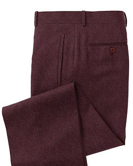 Berry Solid Trouser:Z3-3962096