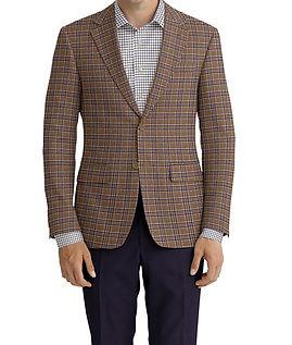 Fawn Navy Plaid Jacket:Z3-3962128  Lining:L4-4072794  Trouser:Z3-3962108  Shirt:N7-4072095