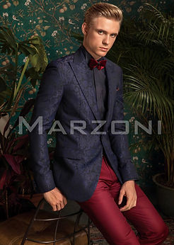 Marzoni Dark Blue Dinner Jacket 607-829/1000