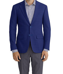 Bright Blue Hopsack Jacket:Z2-3961978  Trouser:C6-3644131  Shirt:N7-4072110