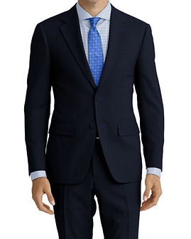 Blue Tic Weave Suit:Z4-4071923  Shirt:N7-4072105