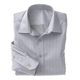 Navy Narrow Stripe Shirt:N3-3340125