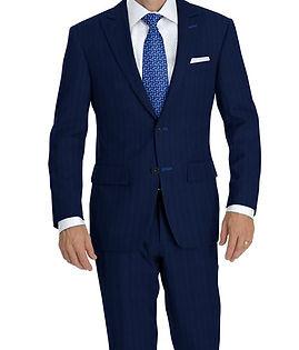 Blue Marine Stripe Suit:Y4-4292923  Shirt:N5-4071750