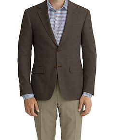 Dormeuil Echo Natural Texture Sportcoat:Y6-4073484  Lining:L4-4072743  Trouser:Z4-3336949  Shirt:N6-4072011