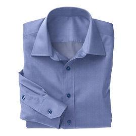 Norwich Blue Classic Oxford Shirt:N3-3340137