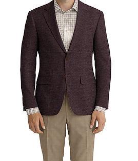 Dormeuil Dorsilk Red Rust Micro Check Jacket:Y4-4185192  Lining:L4-4072744  Trouser:E1-3642474  Shirt:N5-3962784