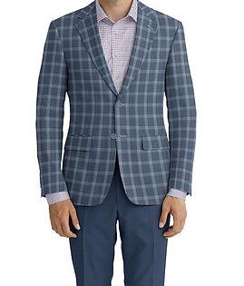 Blue Red Plaid Jacket:C6-4074241 Trouser:C6-4074193  Shirt:N7-4072146