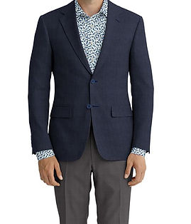 Navy Solid Linen Jacker:K4-3861646 Trouser:C6-3644031  Shirt:N5-4293116