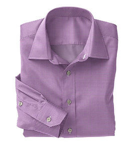 Violet Check Shirt:N5-4074738