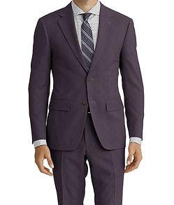 Dormeuil Amadeus Action Charcoal Self Mosaic Suit:Y4-4185258  Lining:L4-4072743  Shirt:N6-4071984