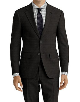 Grey Tic Weave Suit:Z4-4071922  Shirt:N7-4072123