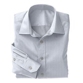 Blue Narrow Stripe Shirt:N3-3340124