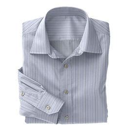 Blue Mulistripe Poplin Shirt:S4-3541043Blue Mulistripe Poplin CSHT:S4-3541043