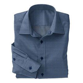 Navy Royal Check Shirt:N5-4293111