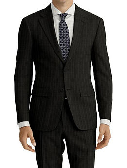 Grey Tan Stripe Suit:Z4-4071925  Shirt:N5-4071839