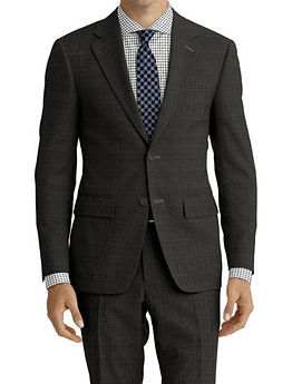 Grey Check Suit:Z4-4071915  Shirt:N7-4072123