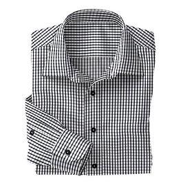 Black Check Shirt:N3-3753465