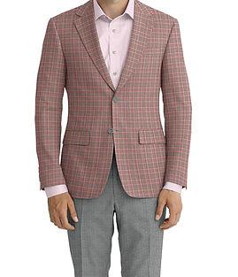 Dormeuil Echo Grey Rose Glen Jacket:Y6-4073449  Lining:L2-3540439  Trouser:E1-3642470  Shirt:N3-3753192