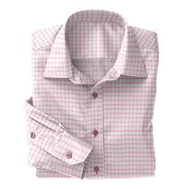 Pink Shepards Check Shirt:N4-3753537