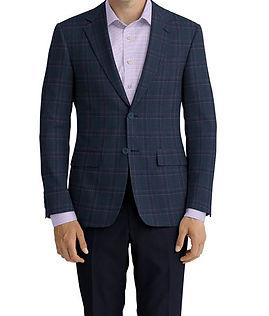 Blue Rose Plaid Jacket:Z4-3962220  Lining:L4-4072793  Trouser:Z3-3962257  Shirt:N6-4071990