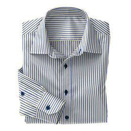 Blue/Yellow Multi Stripe Shirt:N3-3753501