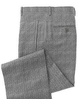 Lt Grey Solid Trouser:Z3-3962101