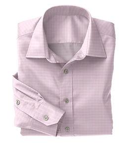 Pink Check Shirt:N5-4074725