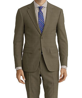 Tan Sharkskin Suit:E3-4183723  Shirt:N7-4072103