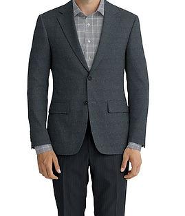 Cerruti Oxygen Grey Tweed Jacket:Z9-4393534  Lining:L4-4072745  Trouser:C3-4394948  Shirt:N5-3962769