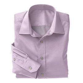 Violet Gingham Check Shirt:N3-3340100
