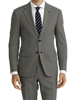 Grey Houndstooth Suit:Z4-4071918  Shirt:N5-4071868