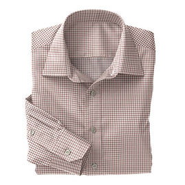 Norwich Red Twill Check Shirt:N3-3340120