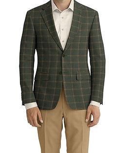 Olive Brown Windowpane Jacket:C6-4074175  Trouser:C6-4074204  Shirt:N2-3754025