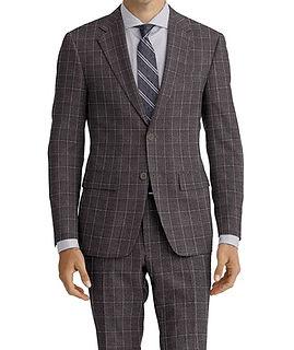 Dormeuil Amadeus Action Grey Melange Green Suit:Y4-4185234  Lining:L4-4072745  Shirt:N5-4071808