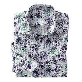Purple Abstact Floral N5-4073197