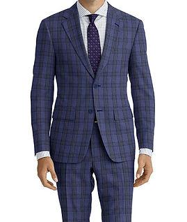 Blue Green Check Suit:C9-4072374   Shirt:N7-4072119
