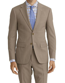 Tan Solid Suit:Z4-4071969  Shirt:N6-4072063