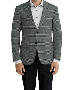 Cerruti Oxygen Black & White Plaid Jacket:Z6-4393568  Lining:L4-4072815  Trouser:C3-4394954  Shirt:N5-375326