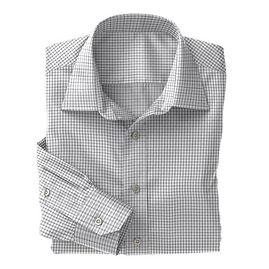 Norwich Royal Blue Twill Check Shirt:N3-3340121