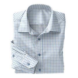 Lt Blue Shepards Check Shirt:N4-3753485