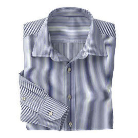 Navy Classic Stripe Shirt:N3-3858270