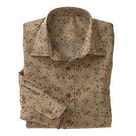 Brown Floral Twill N5-4073207
