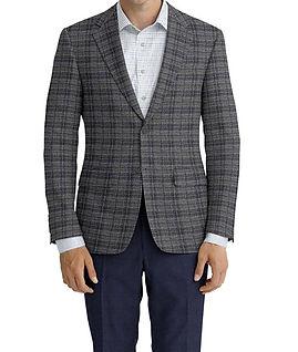 Grey Blue Plaid Jacket:Z3-3962116  Lining:L4-4072792  Trouser:Z3-3962106  Shirt:N6-4071977