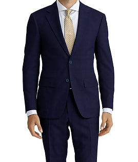 Drago Vantage Navy Blue Check Suit:Z2-4071495  Lining:L6-4072648  Shirt:N5-4071750