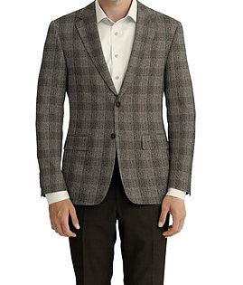 Taupe Plaid Jacket:Z3-3962280  Lining:L4-4072717  Trouser:Z3-3962248  Shirt:N5-365849