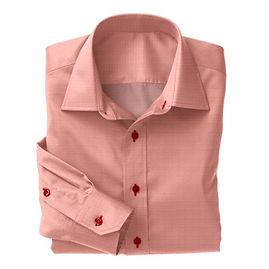Red Herringbone Shirt:N3-3340147