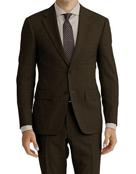 Brown Nailhead Suit:Z4-4071960  Shirt:N7-4072103