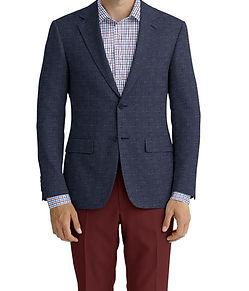 Dormeuil Calypso Navy Fleck Sportcoat:Y6-4073660  Lining:L6-4072644  Trouser:C2-4184607  Shirt:N6-4072093
